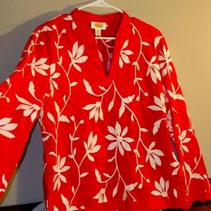 Embroidered Talbots Tunic